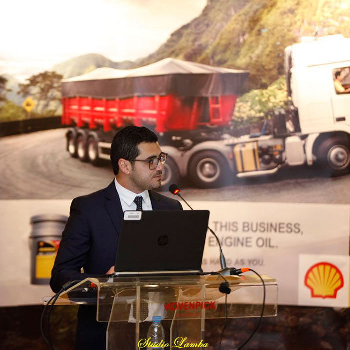 Hypco's seminar for the Fleet and power sectors, about the Shell Rimula R4X at the Kempinski Hotel.